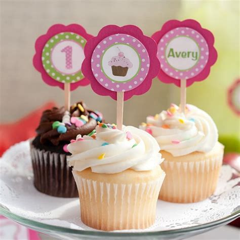 Decor Cupcake by Items Similar To Cupcake Decorations Cupcake Toppers
