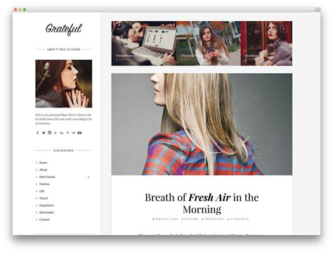 layout fashion blog 20 best fashion blog magazine wordpress themes 2017
