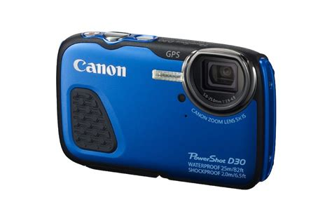 Waterproof Kamera Dslr Canon canon powershot d30 waterproof digital announced