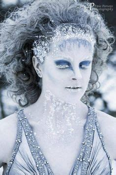 google christmas makeup white glitter makeup look search baby makeup