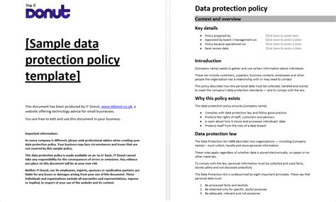Sle Data Protection Policy Template Gdpr Data Mapping Templates Pinterest Data Processing Free Gdpr Compliant Privacy Policy Template