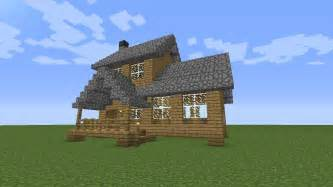 How To Build A House by Minecraft How To Build A Wooden House Medium Size