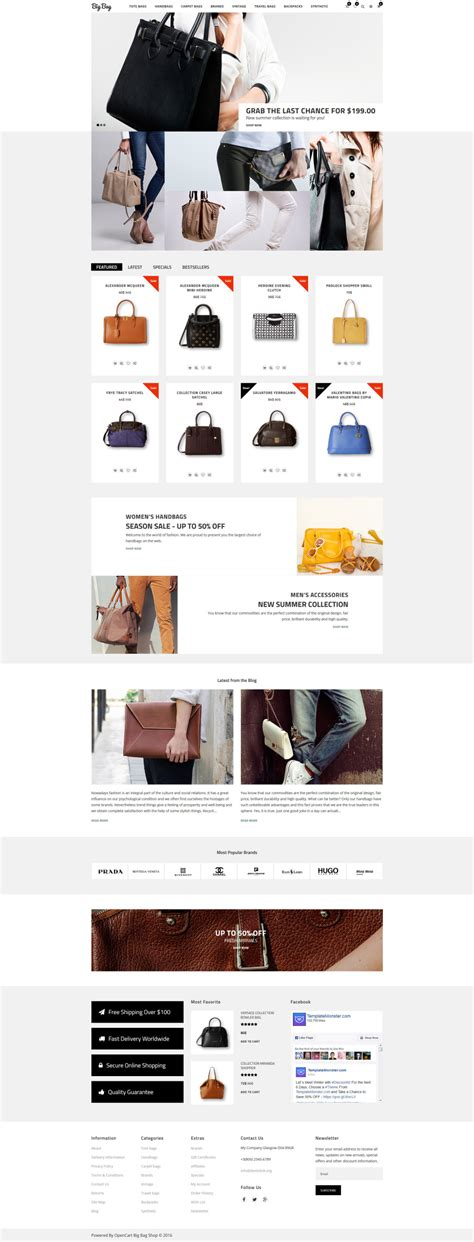 opencart themes clothing fashion opencart template 61311 templates com