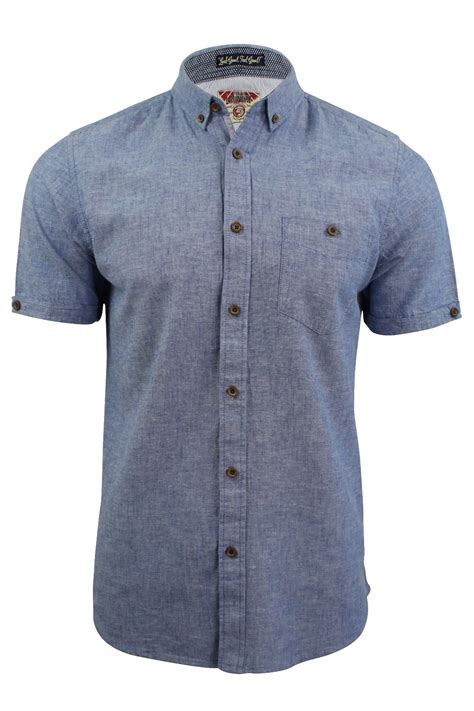 Tab Sleeved Linen Top tokyo laundry mens linen chambray shirt sleeved ebay