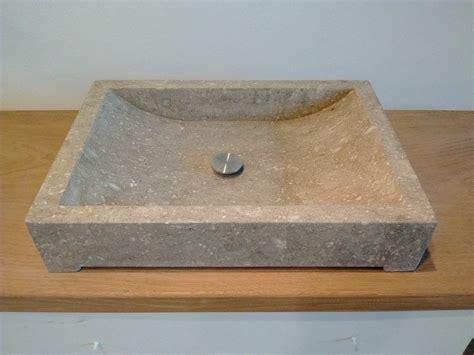 lavandino bagno in pietra grigia tay