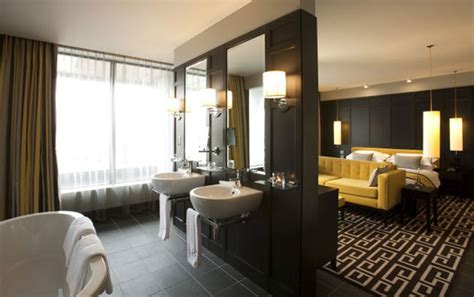 hotels with bathtub in bedroom soluzioni il bagno in camera arredativo design magazine