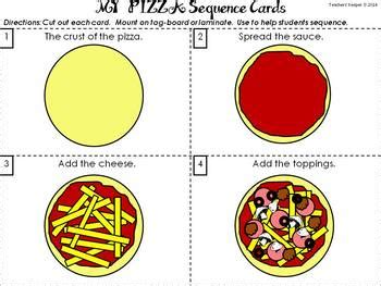 Sequencing Craft Pizza By Teachers Keeper Tpt