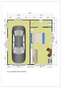 Converting A Garage Into An Apartment Floor Plans Garage With Sleepout Single Double Amp Large Kitsets Ideal