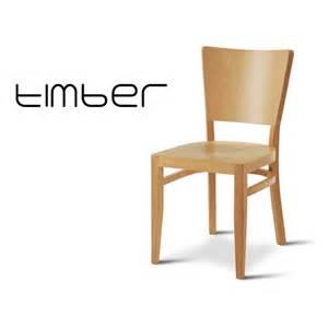chaise en bois timber pour caf 233 bistrot ou cuisine