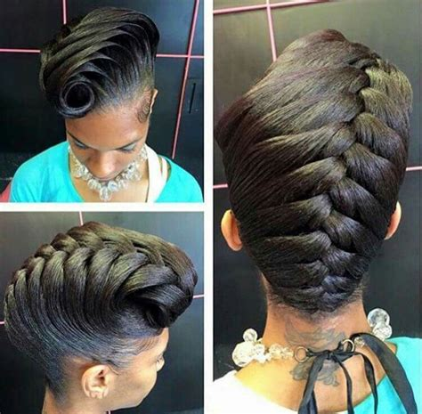 atlanta black unique hairstyles best 20 black hairstyles updo ideas on pinterest