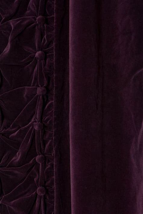 Purple Velvet Curtains Purple Velvet Curtains Car Interior Design