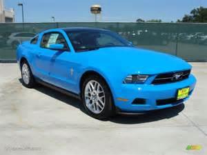 Ford Grabber Blue 2012 Grabber Blue Ford Mustang V6 Premium Coupe 48981079