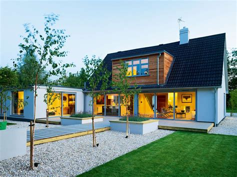 house extension design ideas uk modern bungalow remodel homebuilding renovating single story garage style extension house
