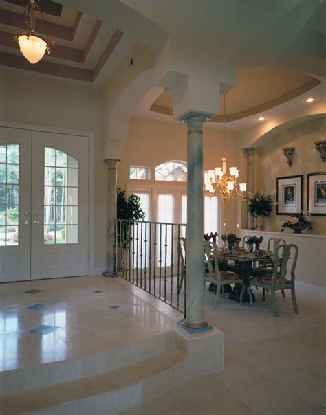 Dining Room Front Entry Luxury House Plan Dining Room Photo 01 Plan 047d 0057