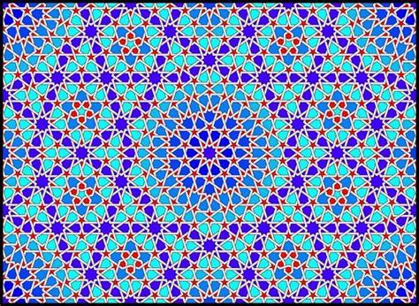geometric pattern types self similar islamic geometric pattern with 5 fold