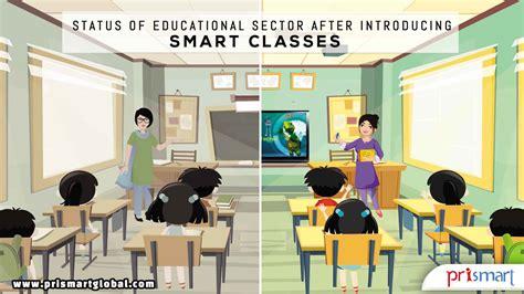 smart classes   essential part  teaching