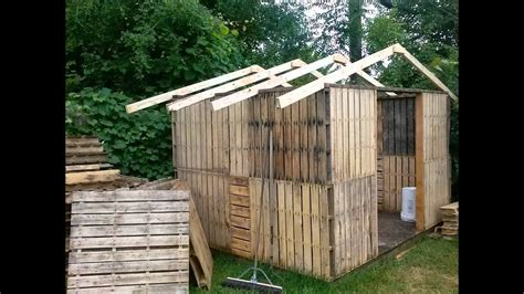 pallet shed youtube