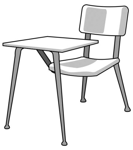 White Dining Room Chair school desk education school school desk png html