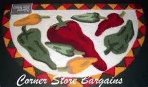 Chili Pepper Kitchen Rugs Chili Pepper Three Salsa Bowl