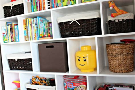 childrens shelving unit kid storage ideas 50 clever diy storage ideas to organize