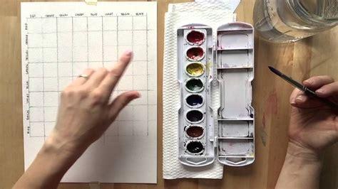 watercolor mixing tutorial watercolor mixing chart tutorial youtube