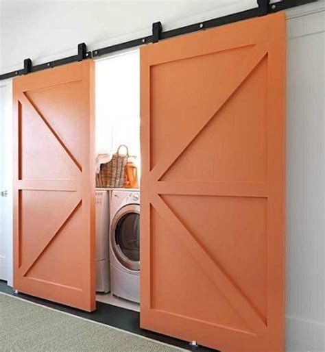 20 Stylish And Hidden Laundry Room Designs Home Design The Door Laundry