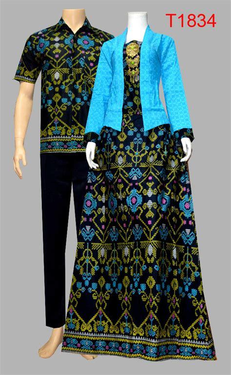 Baju Gamis Batik Setelan Atan Bawah Model Kutubaru Gbk06 Biru 1 baju batik sarimbit setelan kutubaru t1834