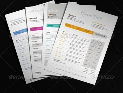 cool invoice template free cool invoice template studio design gallery best