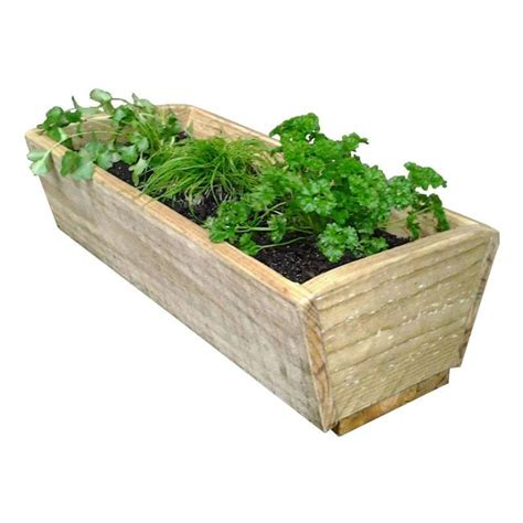 herbs planter herb planter box 600 long breswa outdoor furniture