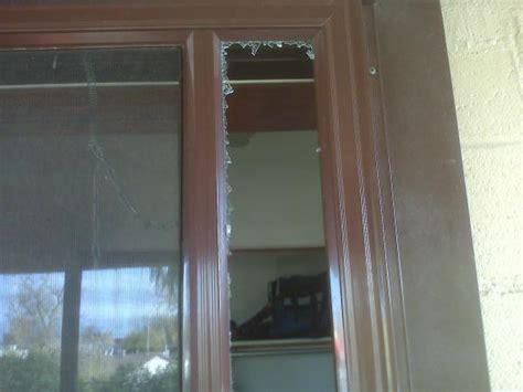 Glass Door Broken Broken Glass On Side Of Door How To Replace Doityourself Community Forums