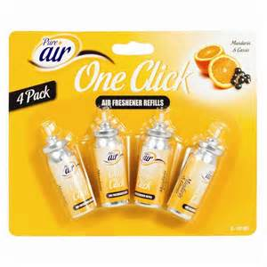 Glade Air Freshener Information 4 One Touch Air Freshener Refills Glade Sense Spray