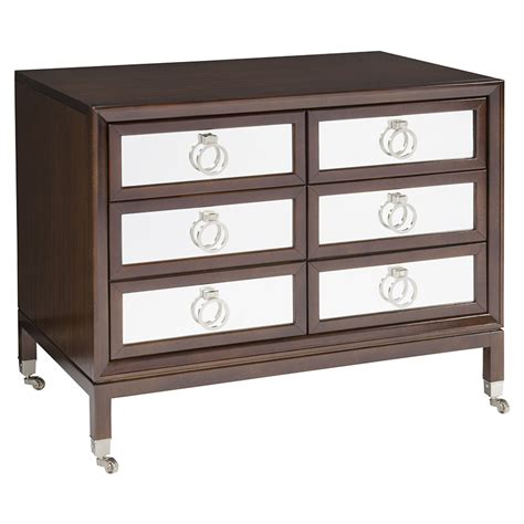 Console Loveseat Weston Mirrored Nightstand Luxe Home Company