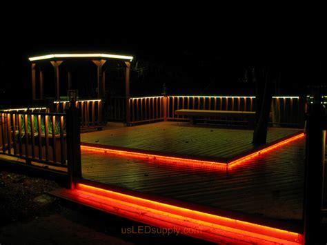 deck lighting ideas led deck lighting with rgb flexible