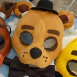 Five nights at freddy s freddy fazbear mask by shopbhawk on etsy
