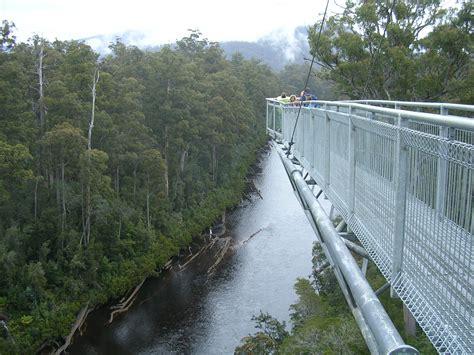 Airwalk Gordon tasmanie voyage s 233 jours