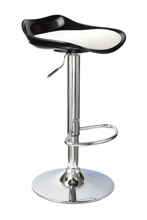 Black Kitchen Stools by Black High Gloss Breakfast Kitchen Bar Stools Homegenies
