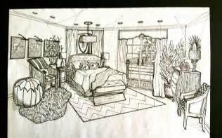 Perspective Drawing Of Bedroom Brandalyn Designs Perspective Drawing Master Bedroom