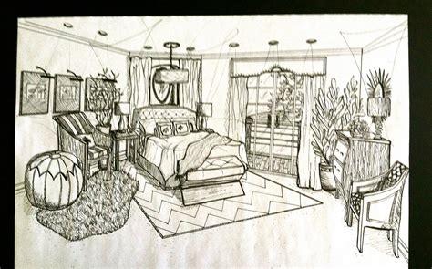 brandalyn designs perspective drawing master bedroom