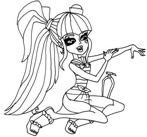 Monster High Coloring Pages Draculaura Az Coloring Pages High Draculaura Coloring Pages