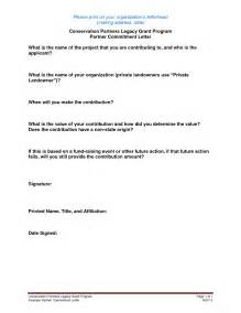 personal commitment statement exles cover letter personal commitment letter sle like success