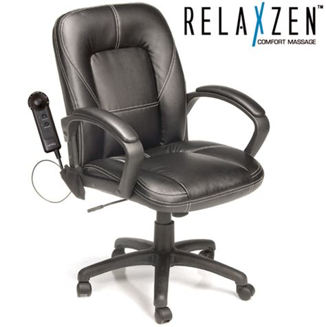 heartland america mid back office chair with massage