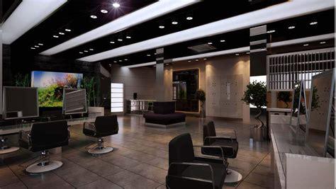modern salon design interior modern salon interior 3d model max cgtrader