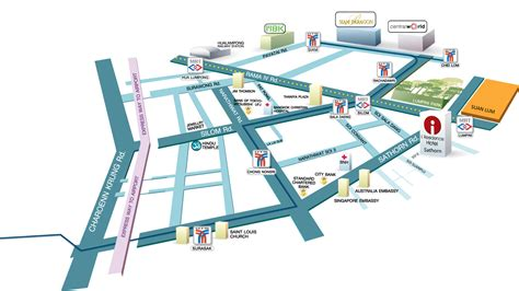 10 South Riverside Plaza Floor Plan - map silom hotel bangkok i residence sathorn hotel bangkok