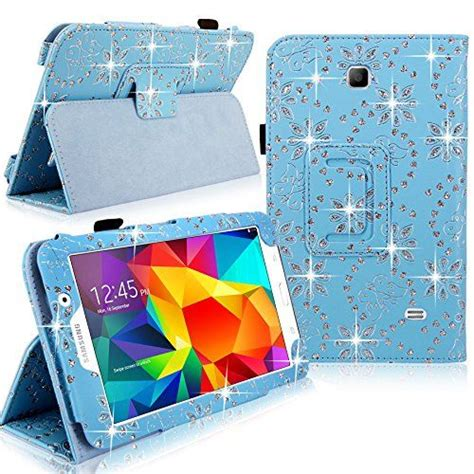 Softcase Gambar Samsung Tab 4 7 T230 cellularvilla leather for samsung galaxy tab 4 7 quot inch sm t230 tablet baby blue glitter pu