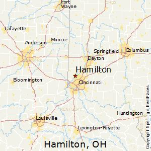 Hamilton Ohio Map by Best Places To Live In Hamilton Ohio