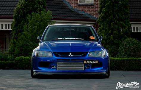 mitsubishi evolution 7 epitome of modification michael zomaya s widebody evo