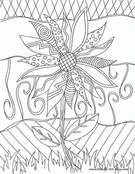 free doodle printable coloring pages printable doodles coloring home