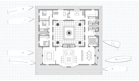 Plan Maison Avec Patio Central by Maison Avec Patio Central For The Home