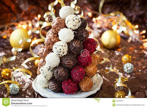 chocolate truffle stock image image of decoration sweet