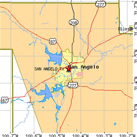 san angelo map map of san angelo area pictures to pin on